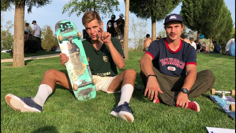 «Назад в школу» скейт контест в Питере