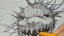 My ballpoint pen drawing №4 (рисунок шариковой ручкой)