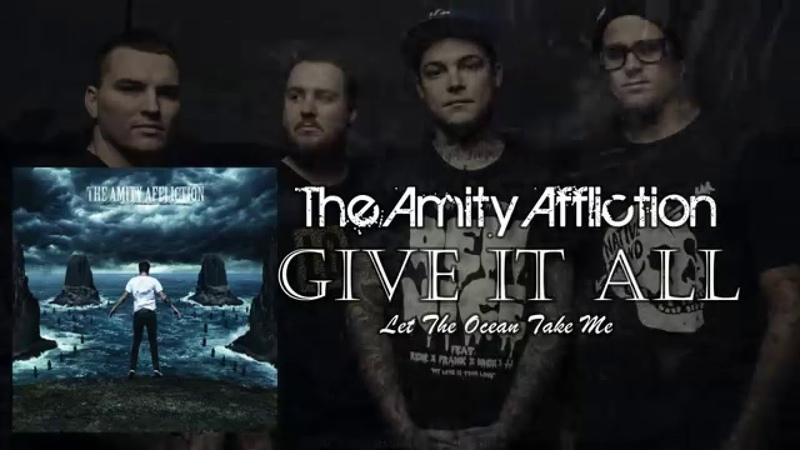 The Amity Affliction Give It All LYRIC VIDEO VISUALIZATIONS 1080p60