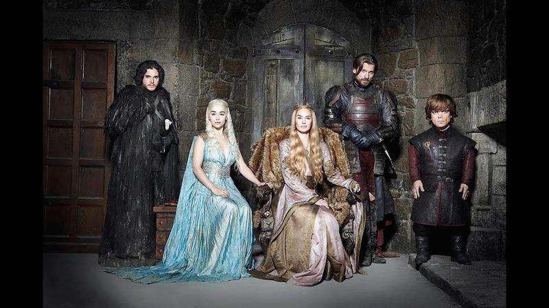 Актёры культового сериала Игра престолов, до того как они попали на проект!
