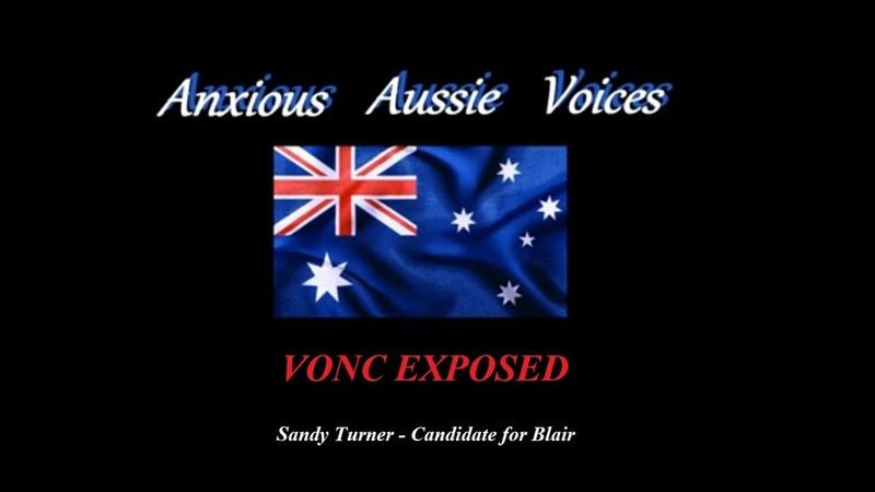 Anxious Aussie Voices - VONC EXPOSED w Sandy Turner - Candidate for Blair
