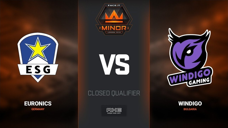 Euronics vs Windigo, map 2 cache, Europe Minor Closed Qualifier – FACEIT Major 2018