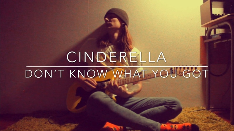 Cinderella Don't Know What You Got Till It's Gone Solo cover