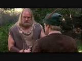 Robin Hood Men in tights - Bridge fight