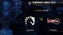 TL vs KT — ЧМ-2018, Групповая стадия, День 7, Игра 1