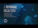 C4D TUTORIAL Bioluminescent Jellyfish PT1 Modelling Rigging Animating