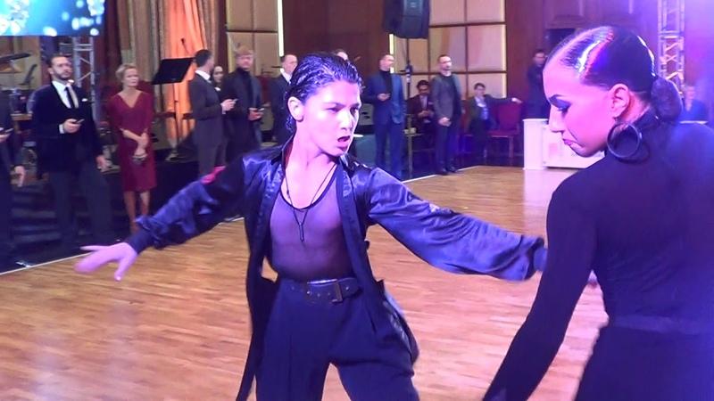 Mirkhanov Dolgopolova Samba | Crystal Ball 2019 Youth 1 Latin