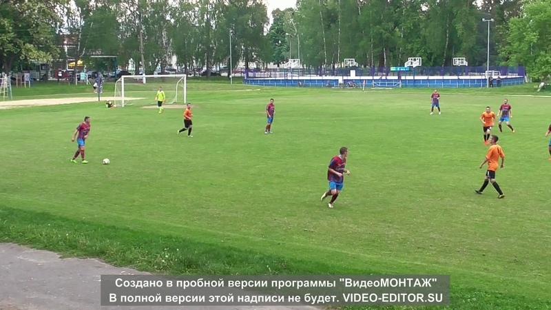Олимп (Локоть)-Мебельщик (Белые Берега)2 тайм - Кубок области