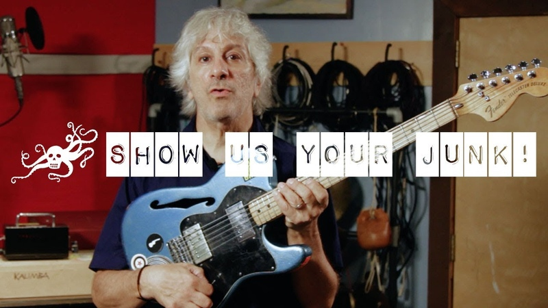Show Us Your Junk! Ep. 18 - Lee Ranaldo (Sonic Youth)   EarthQuaker Devices