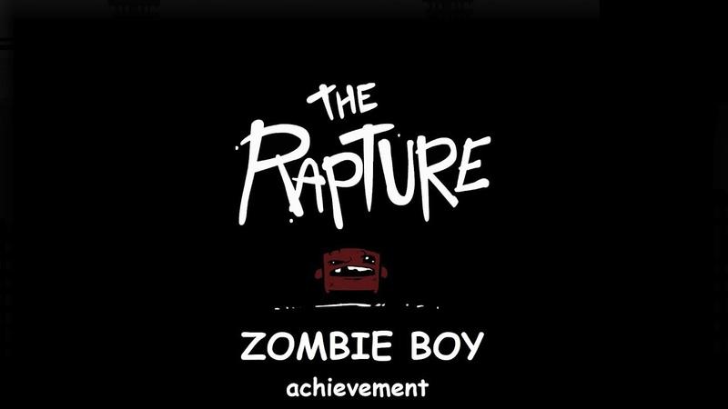 Super Meat Boy Zombie Boy Achievement (Dark Rapture no-death run)