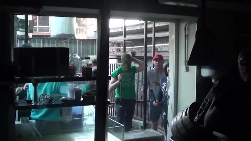 Рейдерский захват кафе Хачапури на Павелецкой