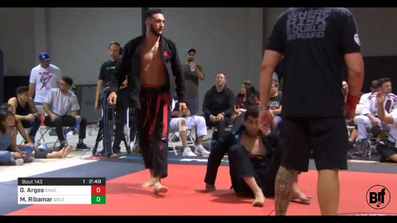 Gabriel Arges vs Manuel Ribamar World Series of Grappling
