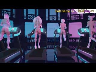 3d shemale group sex party - better futanari cartoon animation porn