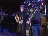 Johnny Cash &amp Waylon Jennings - Folsom Prison Blues Live At Farm Aid (1985)
