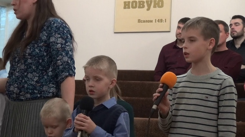 И В СНЕГ, И В ЗНОЙ Я РАДУЮСЬ В ИИСУСЕ -исп. семья Стальмаковых (Церковь ЕХБ г. Абакан)