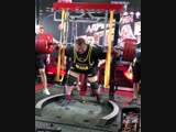525 присед! Влад Алхазов, абсолютный мировой рекорд!