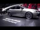 Презентация Toyota Auris Hybrid на Парижской автосалоне 2018