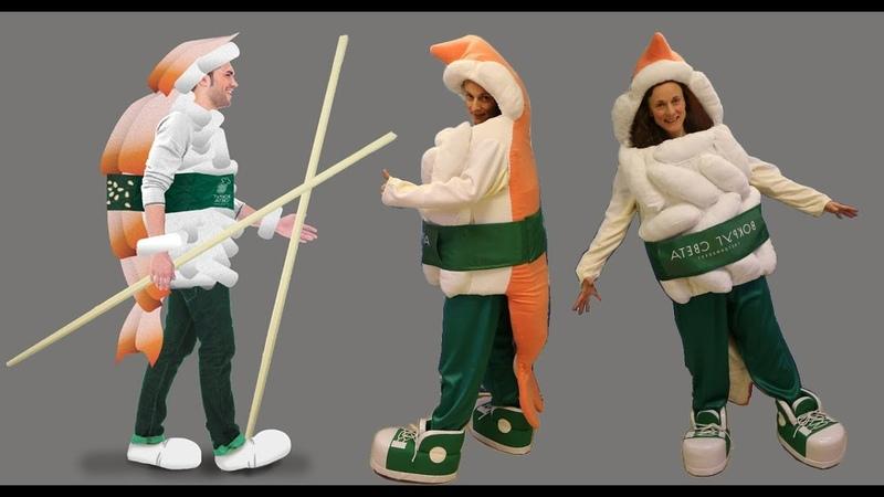 Sushi Mascot Costume | Anastasia mascot maker