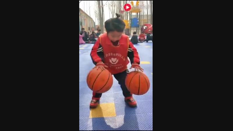 Chinese Kids Basketball Education