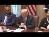 President Trump Meets with Inner City Pastors