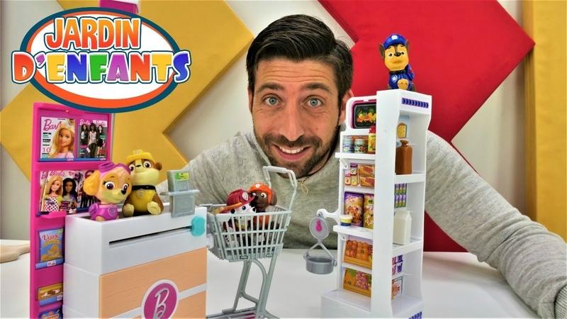 Vidéo pour enfants du Jardin d'enfants №40 avec la Pat Patrouille le magasin