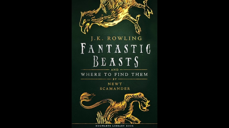 Fantastic Beasts Where To Find Them (Audiobook)