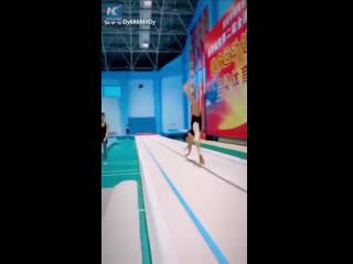 Подрастающее поколение звезд китайской гимнастики!