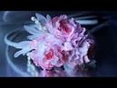 РОЗЫ ВОЛНИСТЫЕ на обруче мастер класс КАНЗАШИ DIY Ribbon Flower Kanzashi