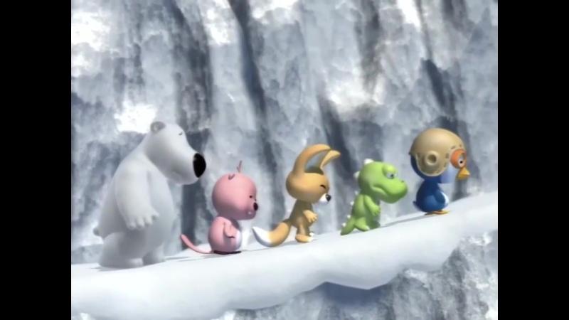 1 сезон 23 серия. Пингвинёнок Пороро. Путешествие в поезде.