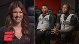 Damian Lillard, CJ McCollum talk playoff approach with Rachel Nichols ESPN