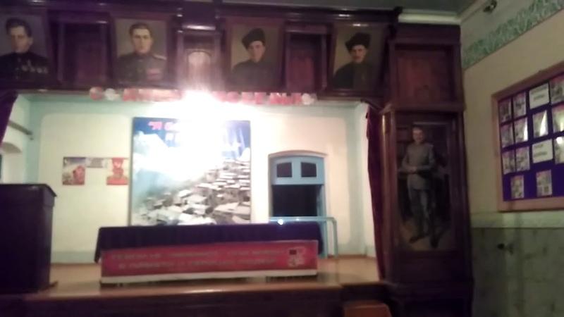 Дом культуры села Мегеб, октябрь 2018, Гунибский район   туризм в Дагестане