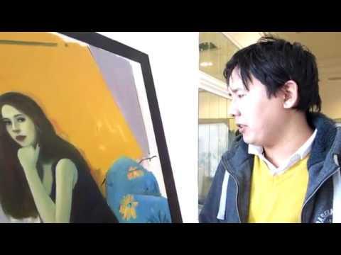 Интервью с Даней Лебедевым [IDL] 4 Молодые художники- Меирман, Мадина и Нурболат.