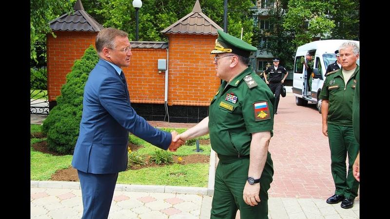 Сакский санаторий Пирогова посетил первый заместитель министра обороны РФ