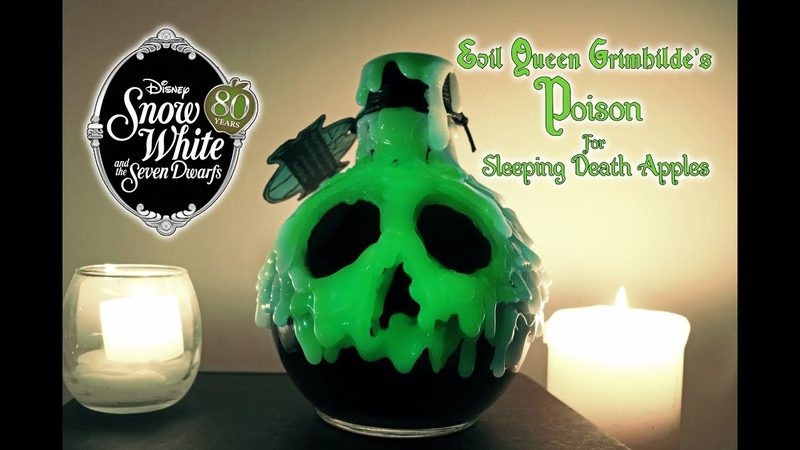 The Evil Queen's Poison for Sleeping Death Apples DIY Potion Prop Snow White 80th Anniversary