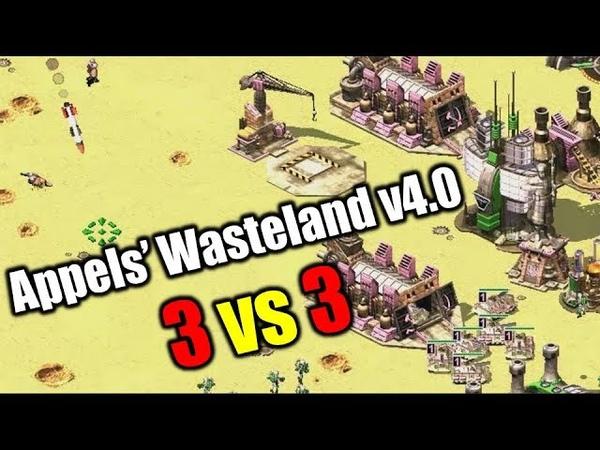 3 vs 3 Command Conquer Red Alert 2 Yuris Revenge Online Multiplayer Gameplay