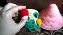 грибок - теремок с каркасом на паралоне