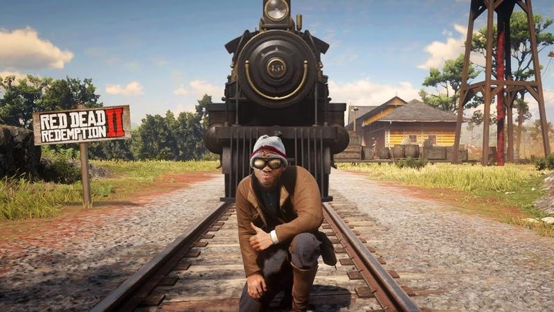 ФОКУС с ПОЕЗДОМ - Red Dead Redemption 2 - баги и приколы RDR 2