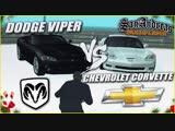 Bulkin DODGE VIPER SRT-10 vs CHEVROLET CORVETTE C6 Z06! (SAMP _ TRINITY RP)
