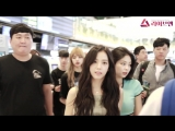 180722 BLACKPINK @ Gimpo airport (Seoul, Korea) to Kansai (Osaka, Japan)