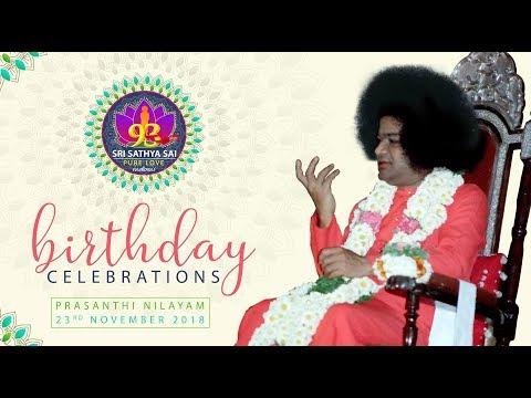 93rd Birthday Celebrations of Bhagawan Sri Sathya Sai Baba from Prasanthi Nilayam - 23 Nov 2018