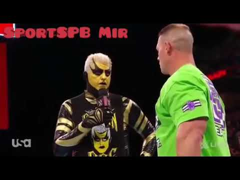 John Cena vs Goldust March 2018