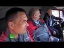 Путин на Камазе включает скорость на кпп в Крыму