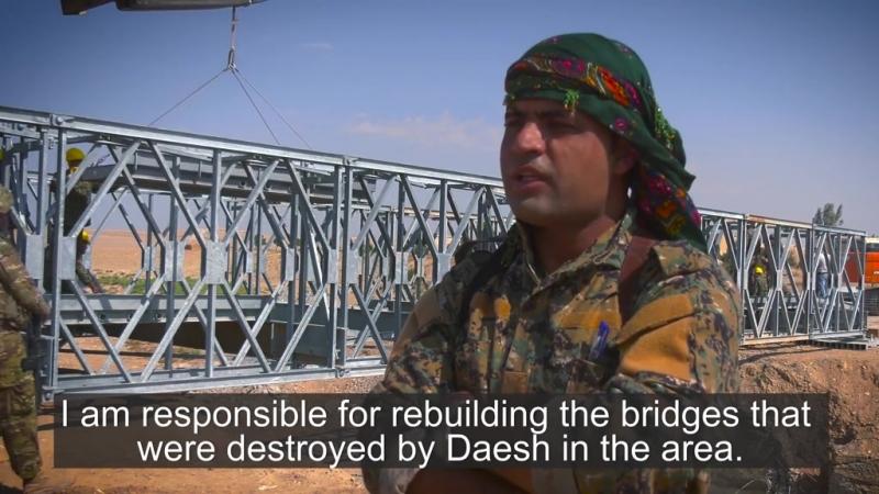 20 бойцов СДС успешно прошли курс по мостостроению и уже применяют знания на практике.