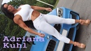 Adriana Kuhl build a sexy feminine muscular upper body Swedish fitness model