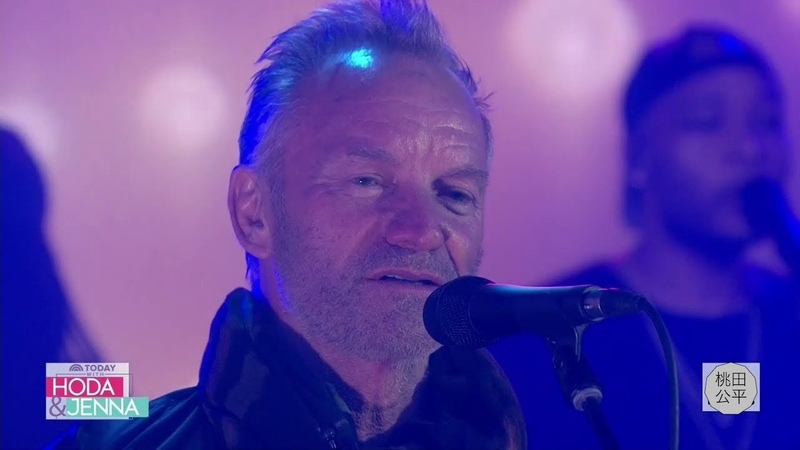 Sting performs Shape of My Heart (LIVE on TODAY Show 24 April 2019)
