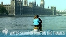 Amphibious Water Scooter Ride on the Thames 1960s British Pathé