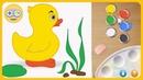 Живые раскраски для малышей - Оживляем картинки волшебными красками - Рисуем на Kids PlayBox