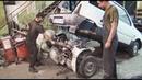 Двухмоторная полноприводная Ока 4х4 Вкатываем дополнительный мотор Окелла 2