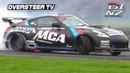 OTV RAW: Shane Van Gisbergen - MCA Suspension Nissan 370z VK56 V8 - D1NZ Drifting R3 Timaru 2018