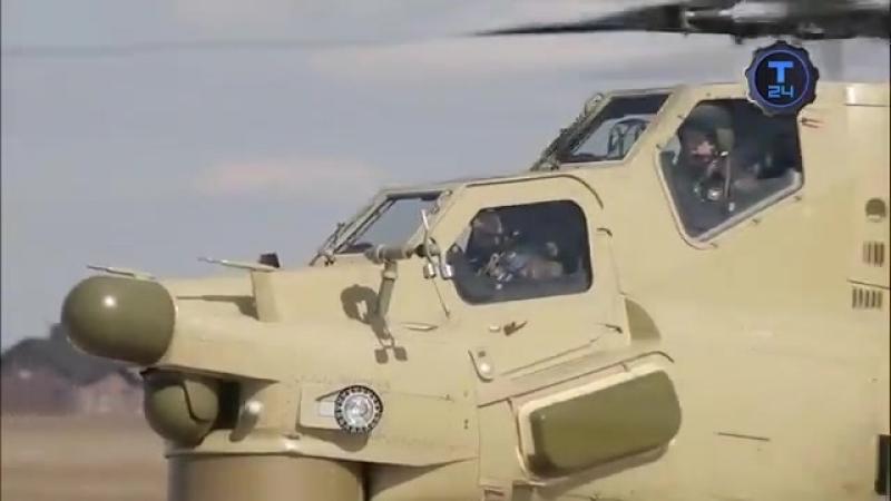 Ми-28Н Ночной охотник Самый-самый